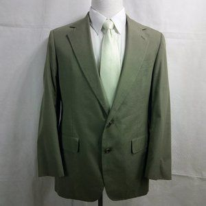 Mister Guy Clothing 41R Khaki Blazer Sport Coat